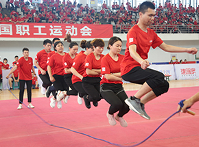 第三届运动会-集体跳绳我们能赢