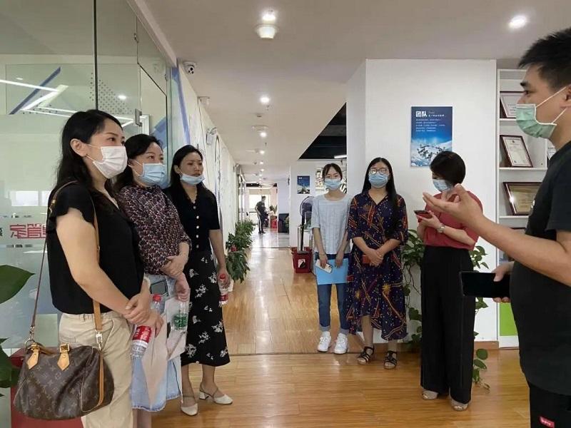 热烈欢迎湖北省孵化器联盟曾秘书长一行莅临建管家武汉分公司调研指导!